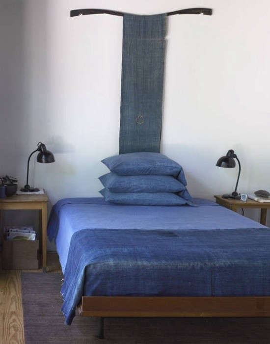 textile-as-headboard-indigo