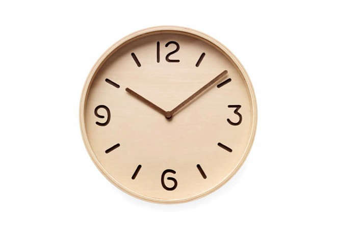 wooden-wall-clock-simple