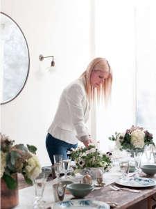 Gwyneth Paltrow, Rose Uniacke, Easter Table Setting, Remodelista