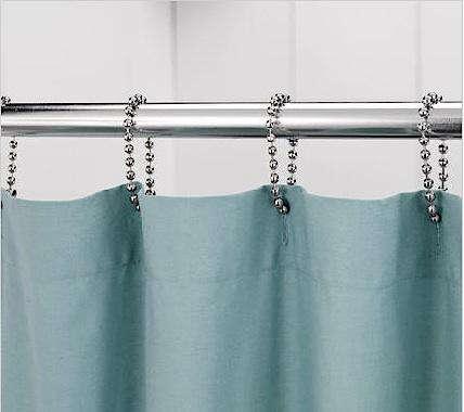 Bath Ball Chain Shower Curtain Rings Remodelista
