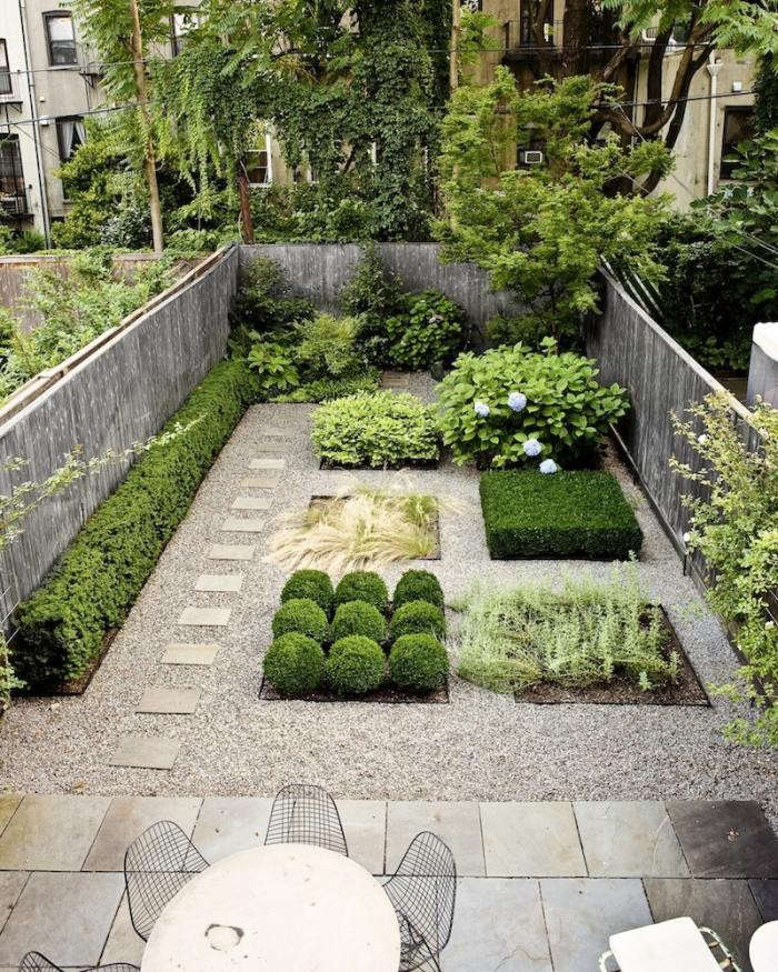 Steal this look modern townhouse garden on a budget for Small townhouse gardens