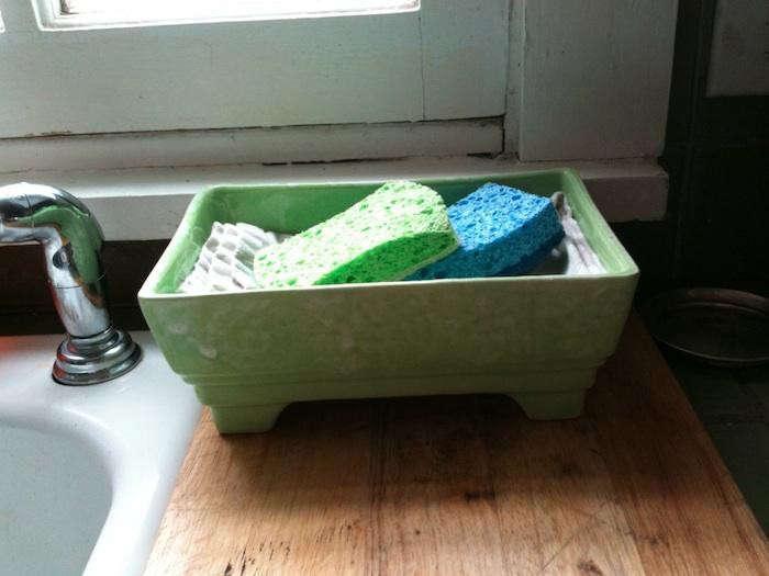 5 Quick Fixes Kitchen Sponge Storage Remodelista