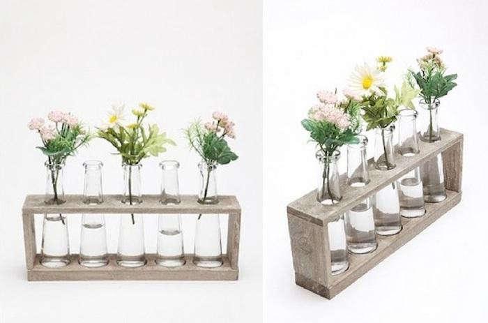 High low test tube vase remodelista for Test tube flower vase rack