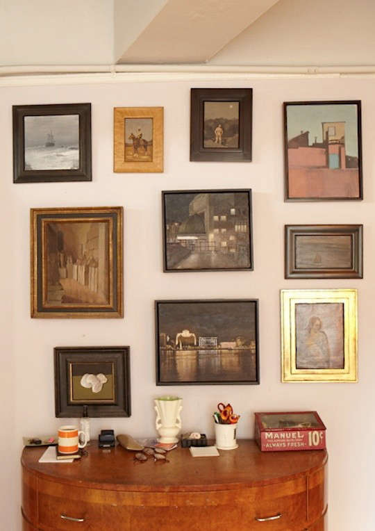 duncan-hannah-framed-photos-on-wall