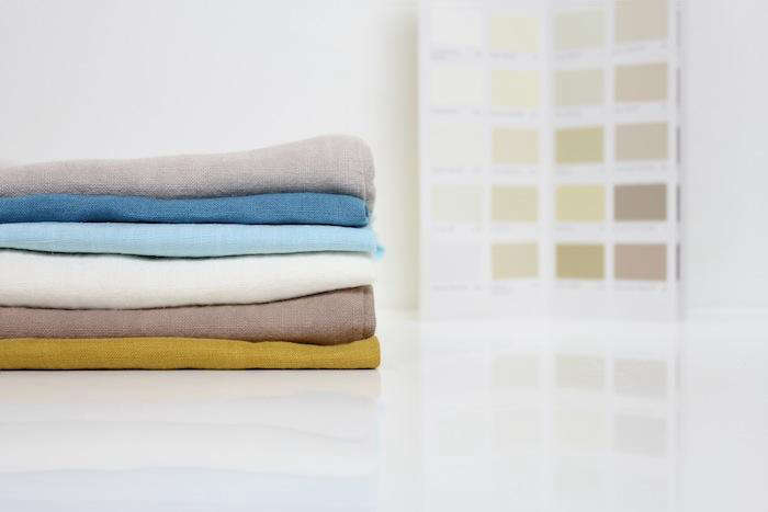 Custom dyed linens in farrow ball colors remodelista for Farrow and ball los angeles