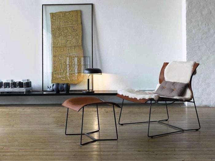 Design sleuth framed kuba cloth as decor remodelista for Sessel walter knoll