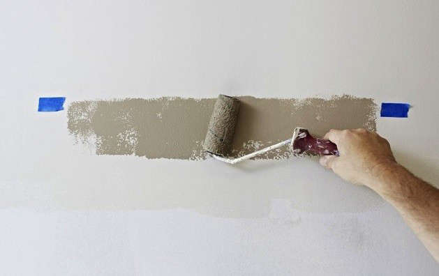 Diy Freehand Two Tone Painted Wall Remodelista