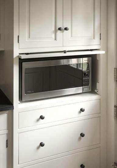13 Strategies for Hiding the Microwave Remodelista