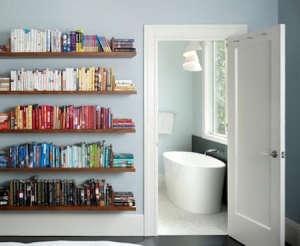 Floating_bookshelves_color_San_Francisco_Huburd_Design