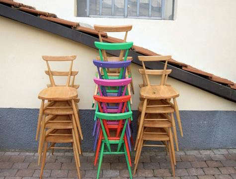 ercol-colored-chair-stack