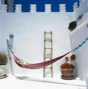 Dar Beida rooftop hammock
