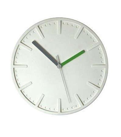 pottinger-cole-polymer-clock-white