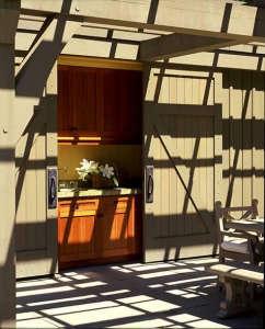 Walker Warner Architects, outdoor living, pergola, wet bar