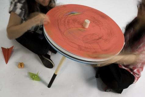 come-draw-spin-table