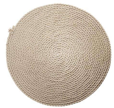 flax-rug