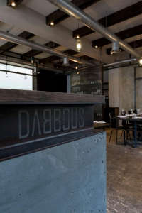 Dabbous-exposed-wiring-plumbing-steel-concrete-I-Beam