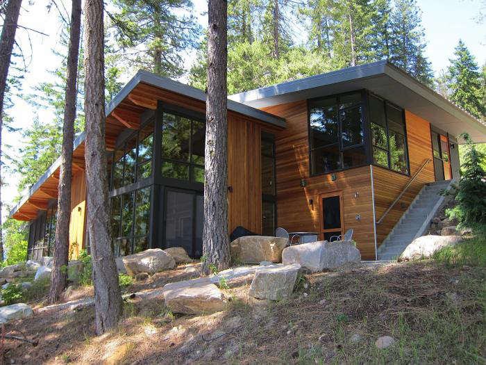 The north lake wenatchee property by deforest architects