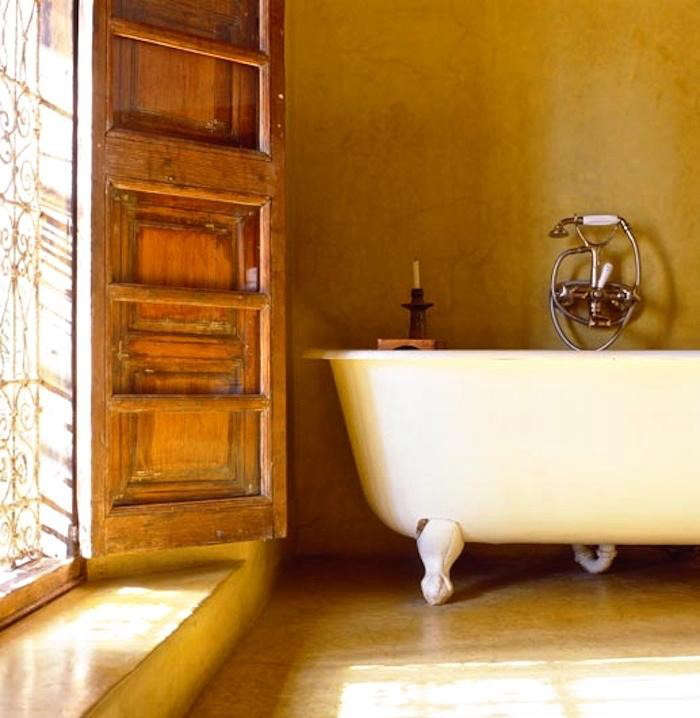 Bathroom Lighting Remodelista: Color Love: Riad Charai In Morocco: Remodelista