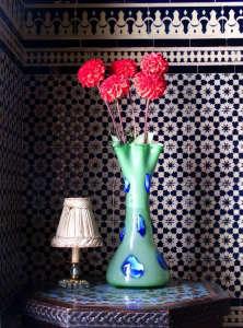 Nord-Pinus-Tanger-Anne-Igou-Fez-tiles-vintage-green-vase