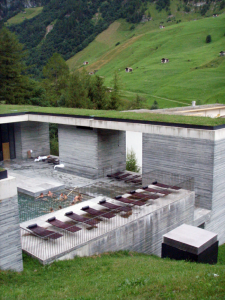 Vals-Thermal-Baths-Peter-Zumthor-green-roof-hills