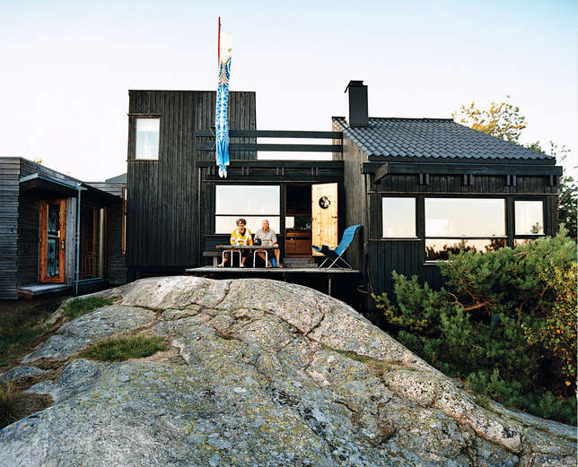 An architect 39 s dream commission in norway remodelista for Living room 101 atlantic ave boston