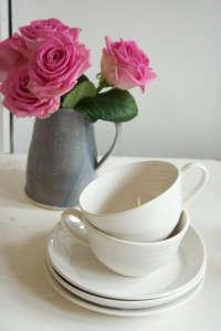 Rachel-Dormer-gray-pitcher-vase-pink-rose-white-teacup