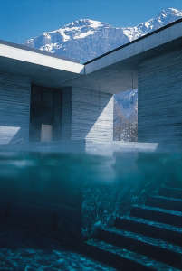 Vals-Thermal-Baths-Peter-Zumthor-outdoor-pool-stone-wall