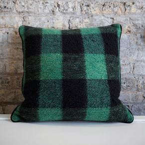 Green-Buffalo-Check-Pillow