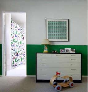 Green Birds Fabrics