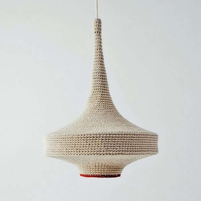 5 Favorites Knitted And Crocheted Pendant Lights Remodelista