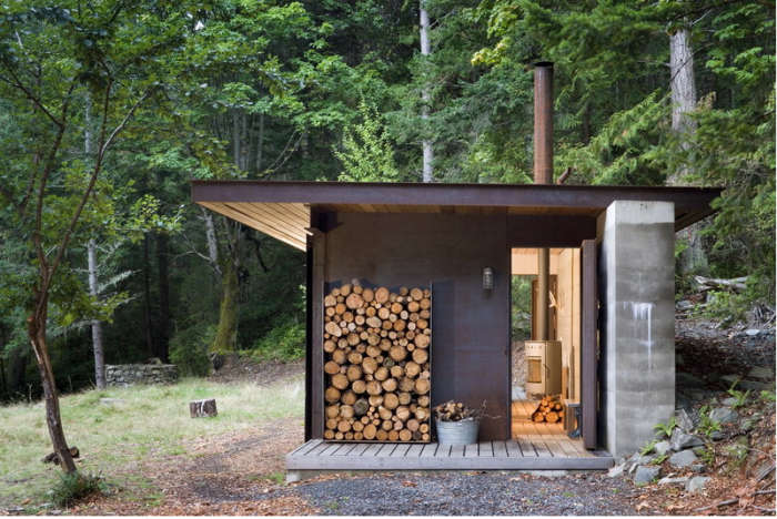 A Master Architect Builds A Tiny Cabin In The Pacific