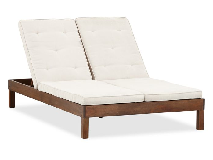 chatham double chaise lounge chair pottery barn