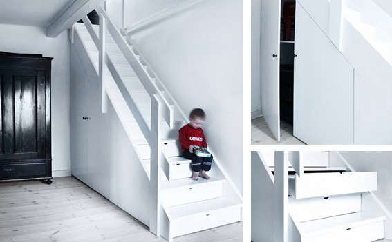10 radical staircases for tight spaces remodelista - Tight space staircase design ...