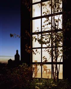 Messana-O'Rorke-Tank-House-New-York-water-tank-urban-tree-house-night-cozy-retreat