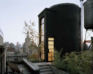 Messana-O'Rorke-Tank-House-New-York-water-tank-urban-tree-house