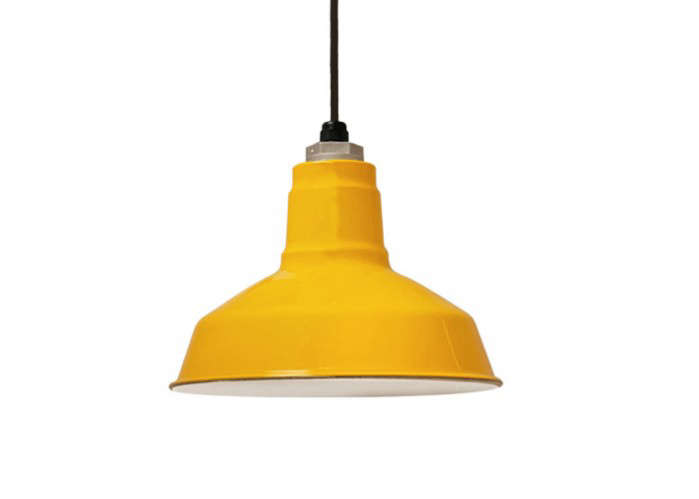 high low colored industrial lights remodelista