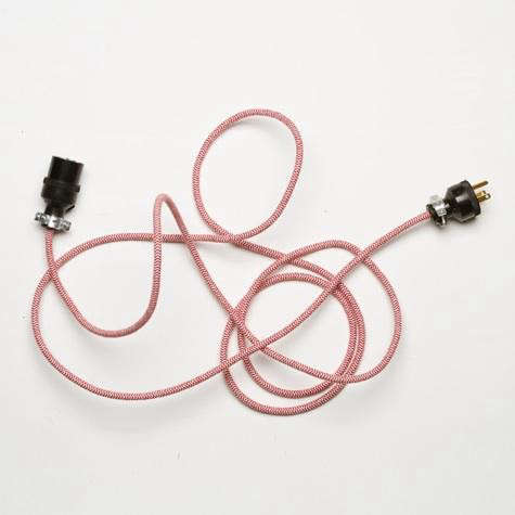 best-made-cloth-extension-cord-red