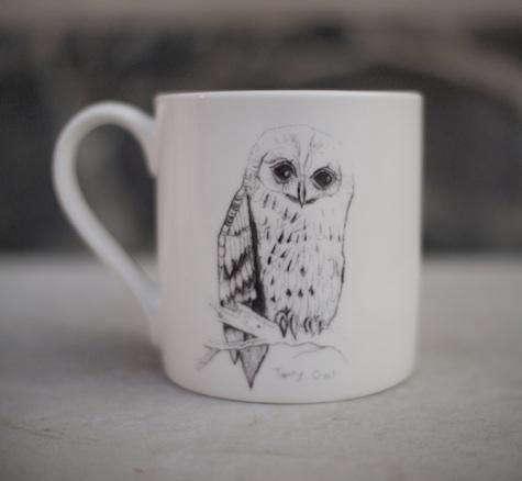 Tabletop Some British Birds Ceramics by Edwyn Collins for Elli Popp portrait 3