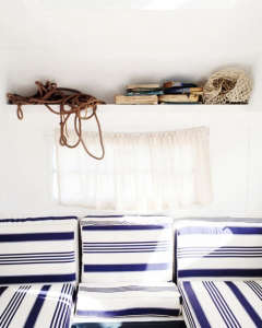 Travelling Wares by Kara Rosenlund: nautical stripes