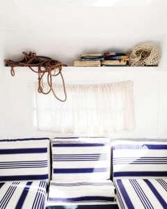 Travelling Wares by Kara Rosenlund: nautical stripes