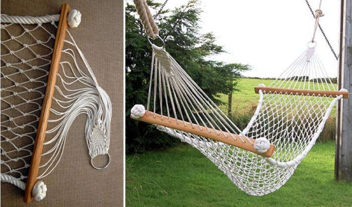 Medium image of diy rope hammock chair a boutique knotting shop in cornwall remodelista