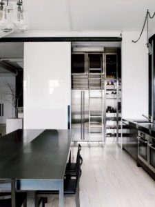 Stainless Steel Kitchen in a New Zealand Loft, Remodelista