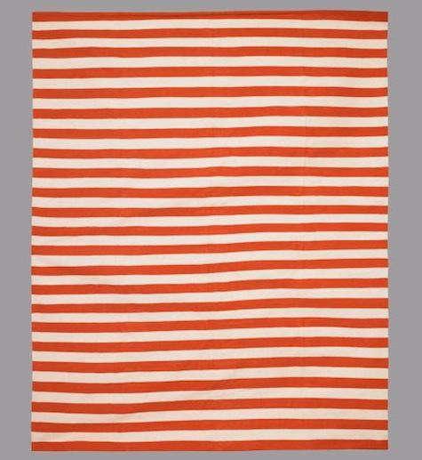 Draper-stripe-persimmon-rug