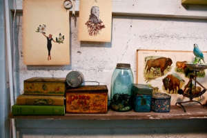 In-the-Make-Alison-Kendall-Studio-Objects-Painting-Collage-Bison-Remodelista