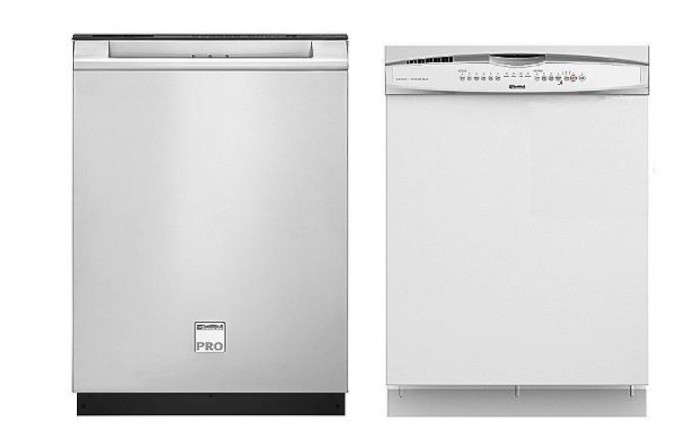 700_kenmore-two-dishwashers-silver-and-white