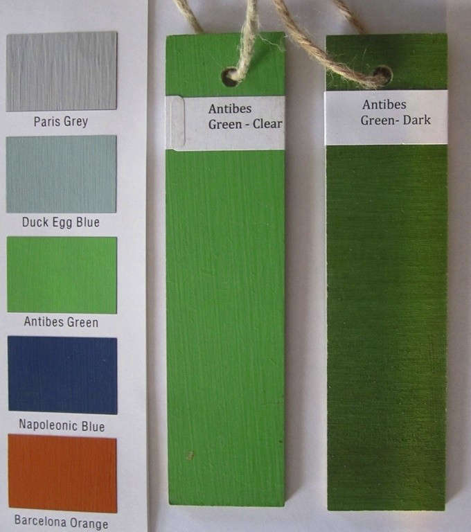 annie-sloan-green-paint-chips