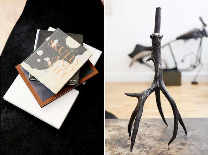 700_eva-gentry-skull-books-candelstick