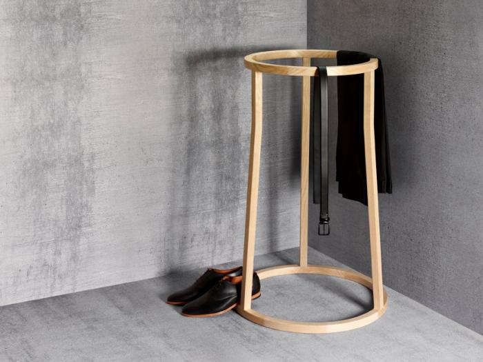 London Design Week A Minimalist Clothes Horse By James