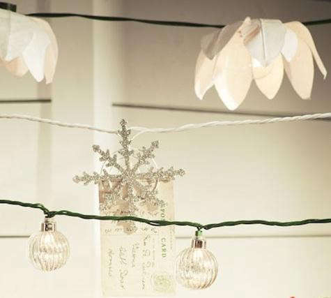 Pottery Barn Star String Lights : Outdoors: Holiday String Light Roundup: Remodelista
