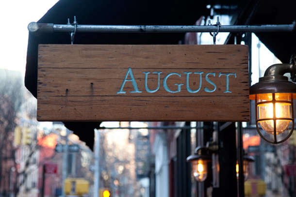 Urban Rusticity In Nyc August Restaurant Remodelista